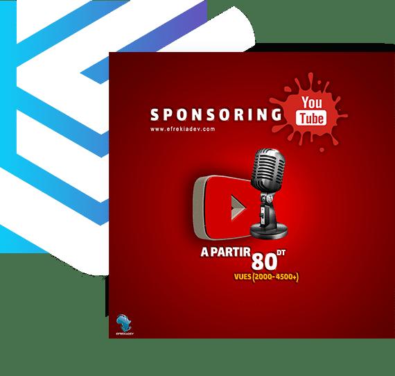 Sponsorisation Youtube